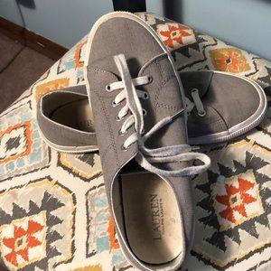 Ralph Lauren Canvas Sneakers